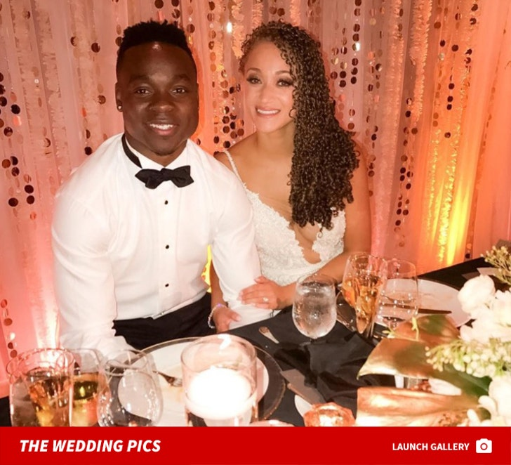 Jj Watt Wedding Pictures: K.C. Chiefs Star Jeremy Maclin Gets Married At Star