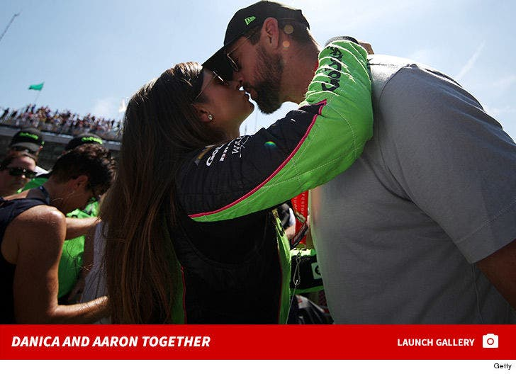 Aaron Rodgers and Danica Patrick Together