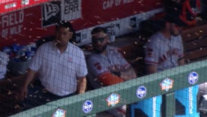 MLB Game Interrupted By Nightmare Swarm Of Bees!