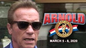 Arnold Schwarzenegger Postpones Fitness Expo Due To Coronavirus