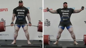 The Mountain from 'GoT' Breaks Deadlift Record, Over 1,100 Pounds