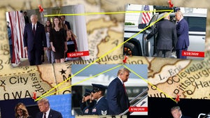 President Trump's Interactions Before Positive COVID Test, Photo Contact Tracing
