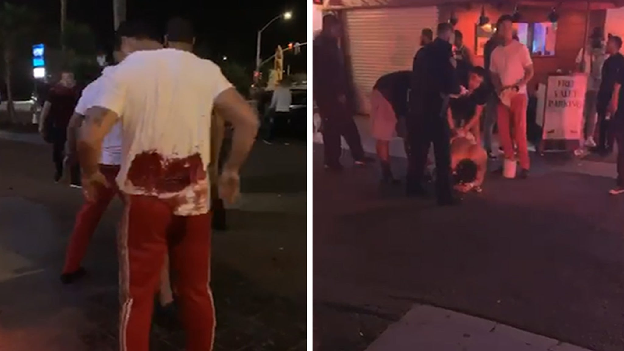 MLB Star Tommy Pham Stabbing Incident, Video Shows Bloody Aftermath