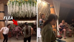 Red Hot Chili Peppers' Flea Performs, Dances at Native American Wedding