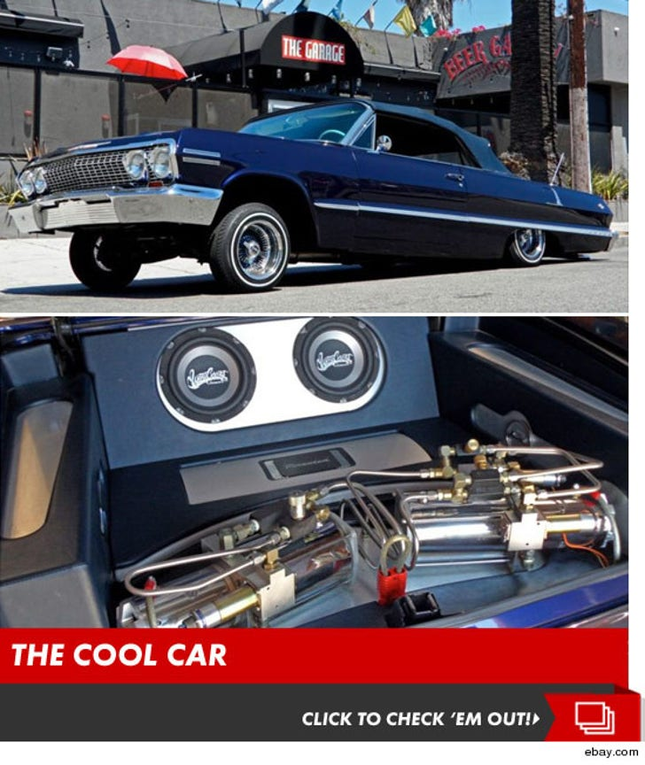 Kobe Bryant's Pimped out Lowrider -- For $ale!