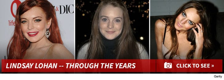 Lindsay Lohan -- Through the Years!
