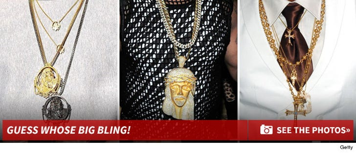 Guess Whose Big Bling!