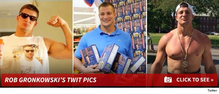 Rob Gronkowski's Twit Pics