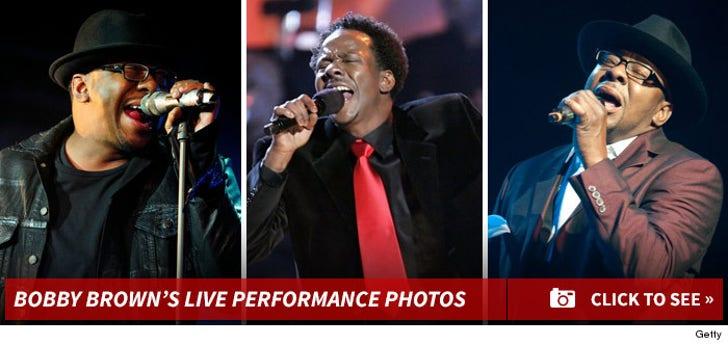 Bobby Brown -- Live Performance Photos