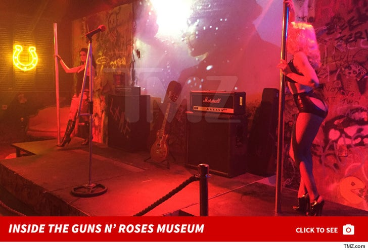 Inside the Guns n' Roses Museum