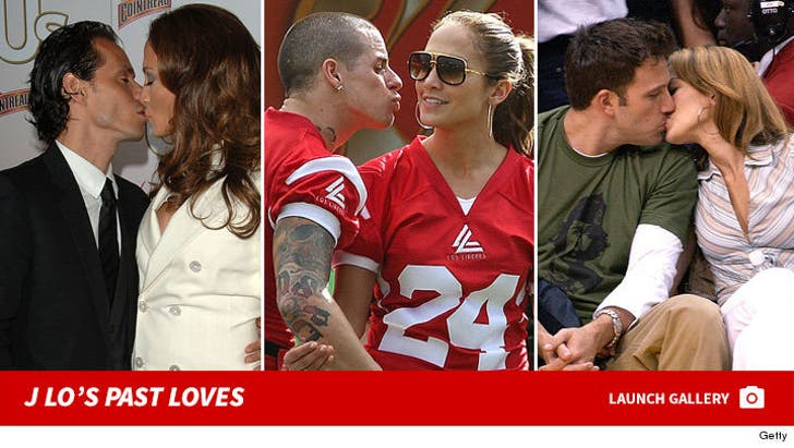 J Lo's Past Loves