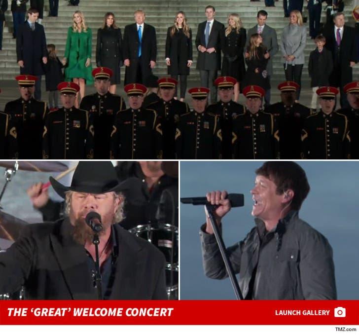 Make America Great Again Welcome Concert