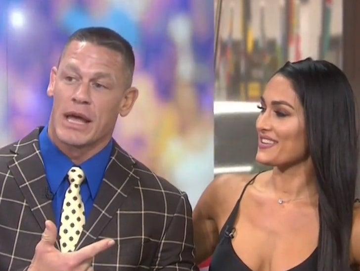 Nikki Bella And John Cena Wedding.John Cena Wedding Proposal To Nikki Bella Sealed Under Anesthesia