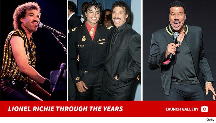 Lionel Richie Through The Years