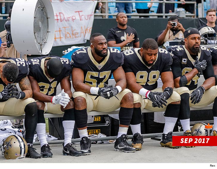 best sneakers 65171 db0a4 NFL's Cam Jordan Rips Donald Trump's Anthem Tweets, 'What a ...