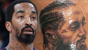 JR Smith Gets Nipsey Hussle Leg Tattoo, 'Long Live Nip!'