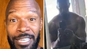Jamie Foxx Bulks Up to Play Mike Tyson, Reveals 'Iron Mike' Physique!!