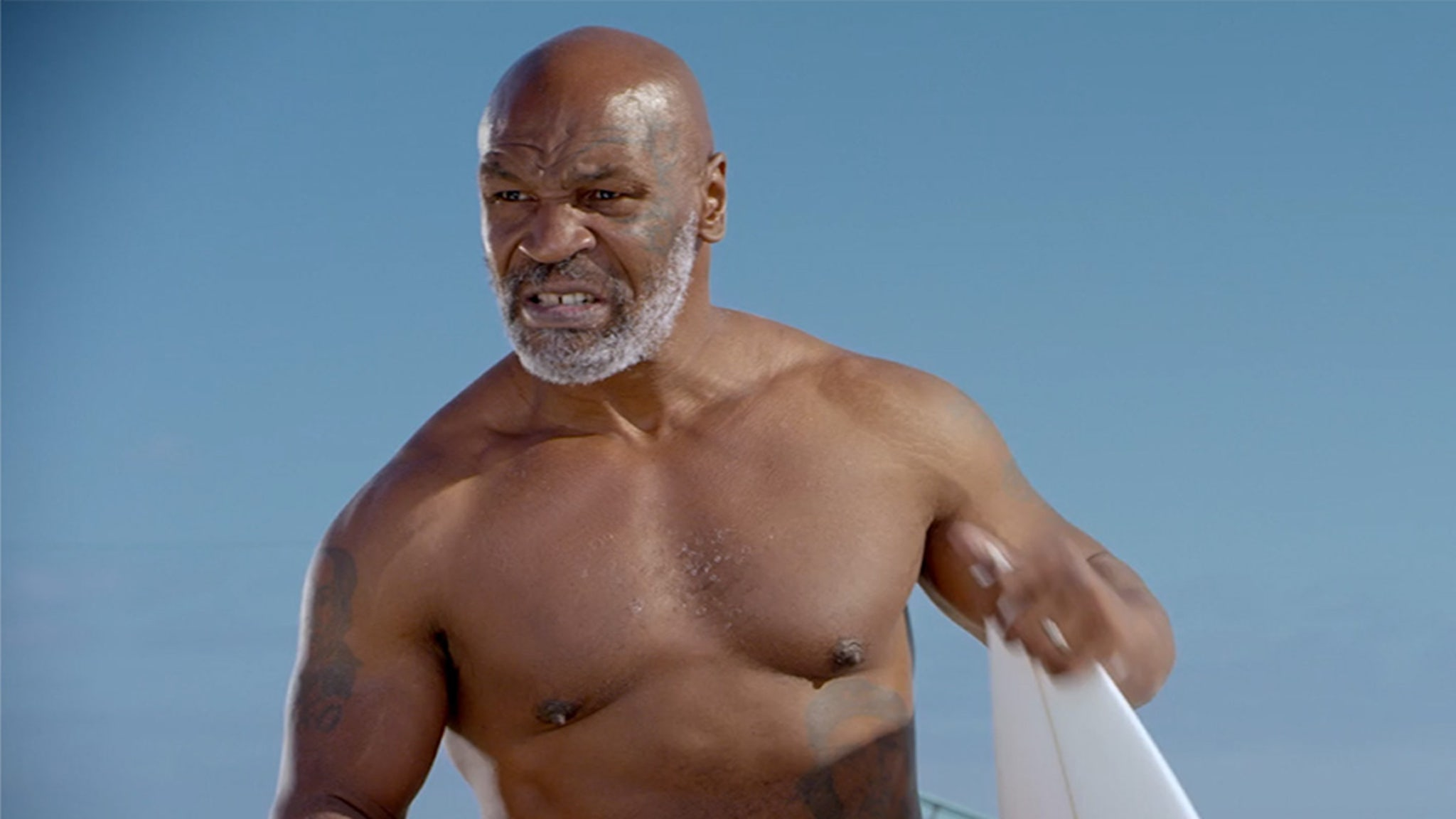 Mike Tyson Battling 'Jaws' for 'Shark Week,' 'Someone's Gonna Get Bit'