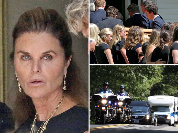 Kennedy Family Gathers For Saoirse Kennedy Hill Funeral