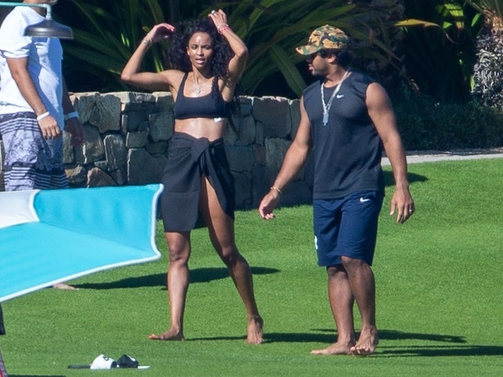 Ciara And Russell Wilson's Cabo Vacation