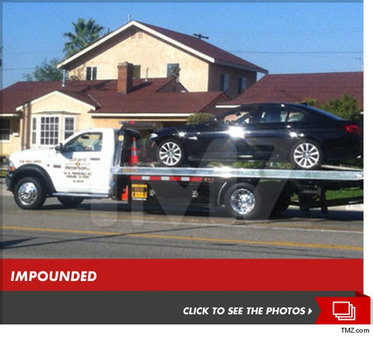 Amanda Bynes -- Pulled Over By Cops, Car Impounded