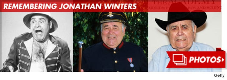 Remembering Jonathan Winters