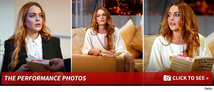 Lindsay Lohan's Performance Photos