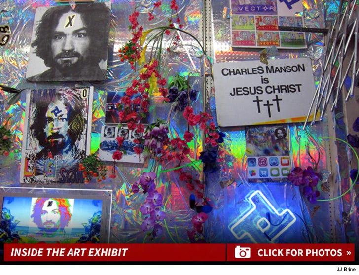 Charles Manson Art Exhibit