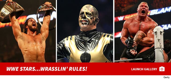 Wrasslin' Rules!