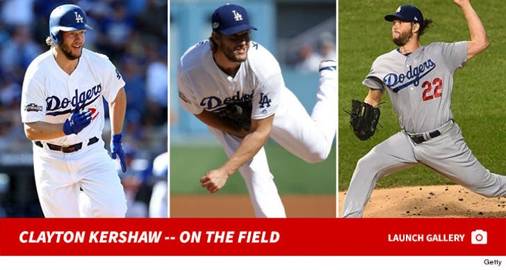 Dodgers' Clayton Kershaw -- On the Field