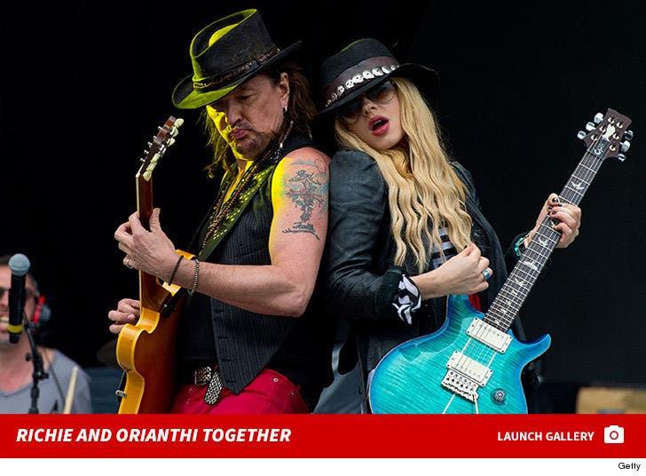 Richie Sambora and Orianthi Together