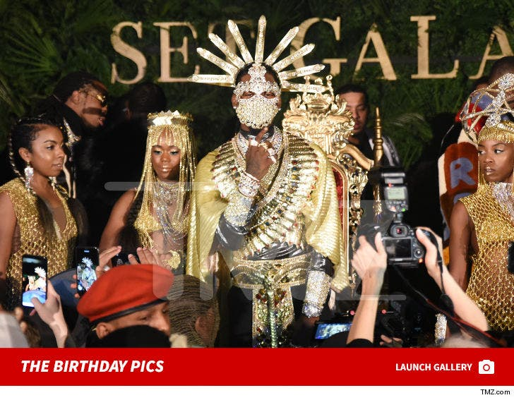 Offset's Birthday Party Pics
