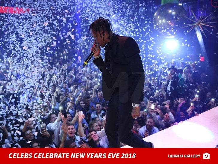 Celebrities On New Years Eve 2018