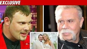 'American Chopper' Star Weds, Dad a No-Show