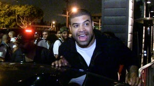 Shawne Merriman -- Appeared Incredibly Sober ... After Alleged Medical Emergency