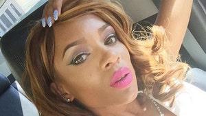 Rapper Lil Mama -- Lip Gloss Be Popping ... Behind Bars