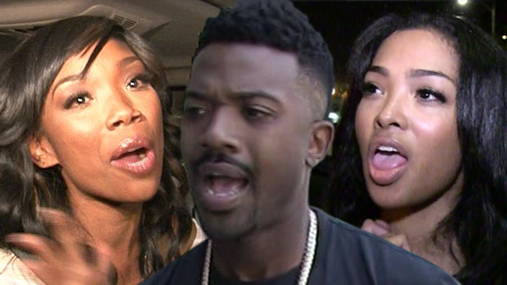 054531709f Brandy Skipped Ray J's Baby Shower After Fight with Princess Love