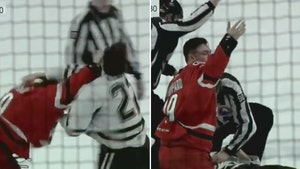 Pro Hockey Player Hospitalized After Getting KO'd In Violent On-Ice Fight