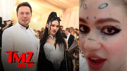 Elon Musk's Baby Mama, Grimes, Leaves Internet Confused with Rant about A.I. & Communism | TMZ TV.jpg