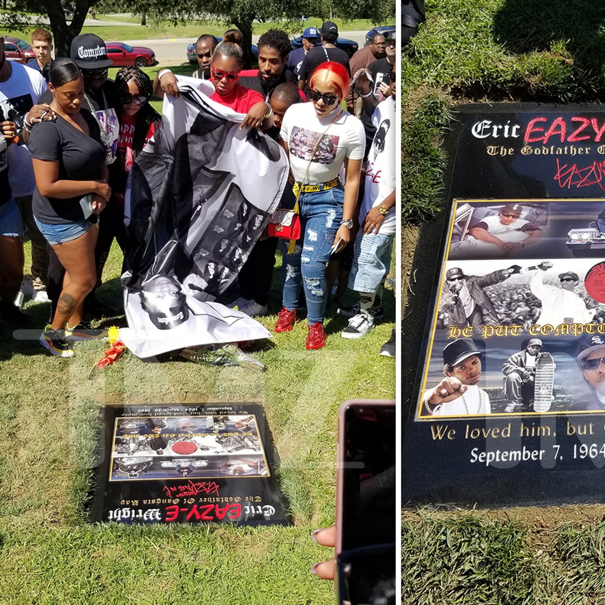 Eazy-E Gets a New, Extravagant Tombstone on 55th Birthday