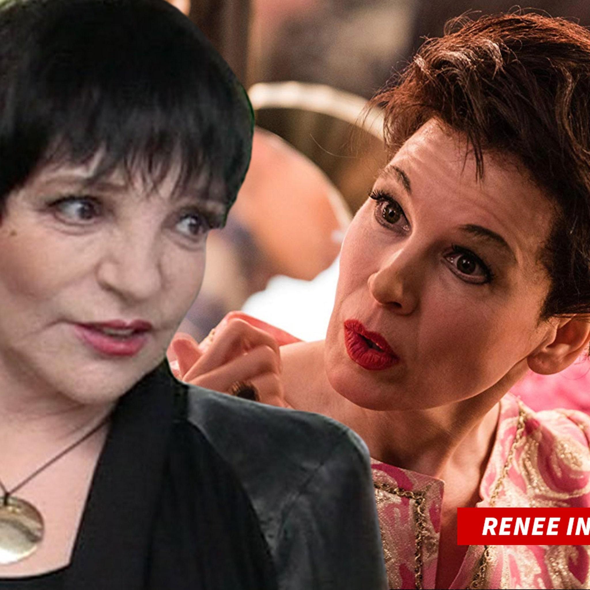 Liza Minnelli Won't See 'Judy' But No Shade at Renee Zellweger