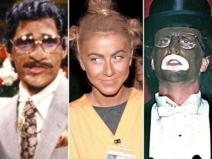 Celebrity Blackface Photos