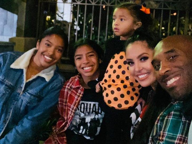 Kobe Bryant's Family Photos