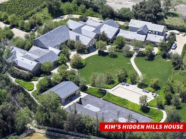 kim kardashian hidden hills house