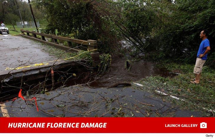 Hurricane Florence Damage