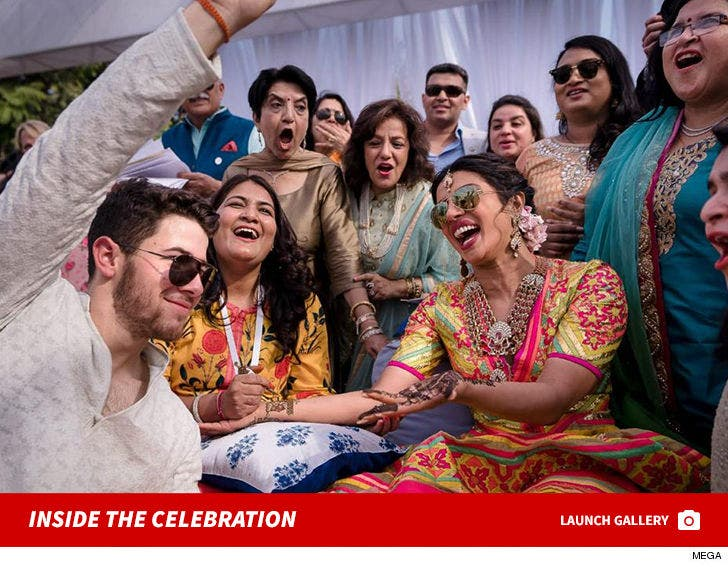 Priyanka Chopra and Nick Jonas's Celebration