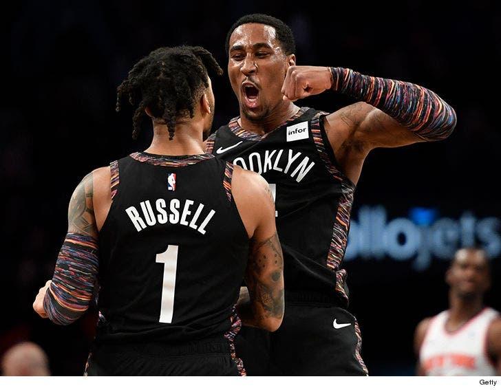 finest selection 4de2e 710f8 Brooklyn Nets Double Down on Biggie Tribute Jerseys, Despite ...