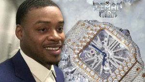 Errol Spence Gets $100k Cartier Watch, Merry Christmas to Me!