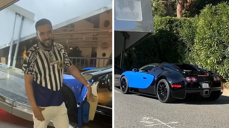 French Montana Buys $1.5 Million Bugatti After Recent Hospitalization - EpicNews