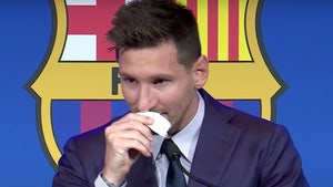 Lionel Messi Used Tissue From Barcelona Farewell Presser Has $1 Million Price Tag